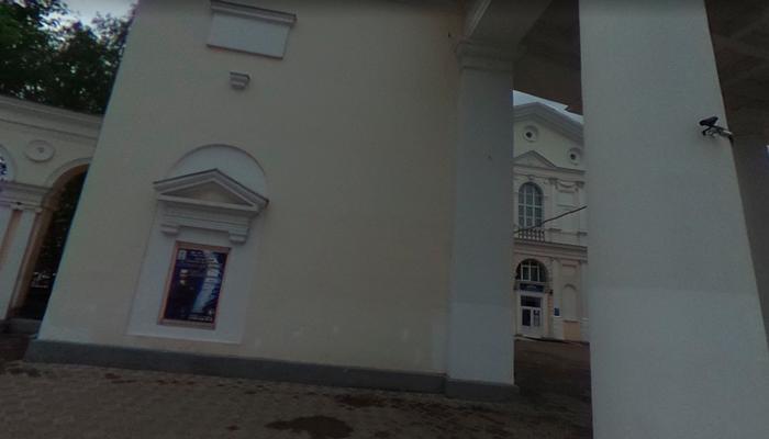 Расположение центра им. Довженко «Дар» (Тверь)