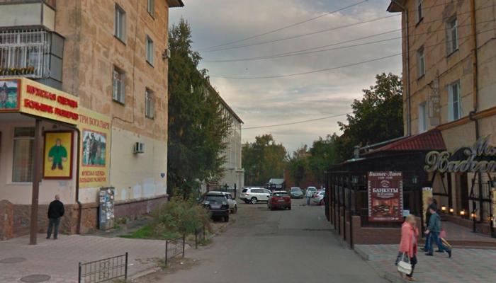 Расположение центра психологической помощи «Сегодня» (Омск)