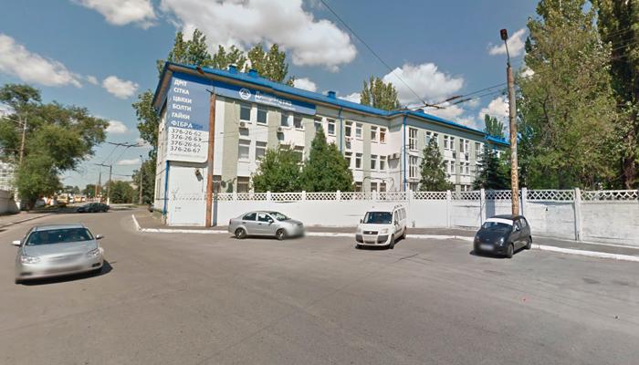 Расположение главного офиса центра реабилитации «Рена-Центр» (Днепр)