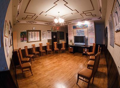 Зал для групповых занятий в центре Перспектива