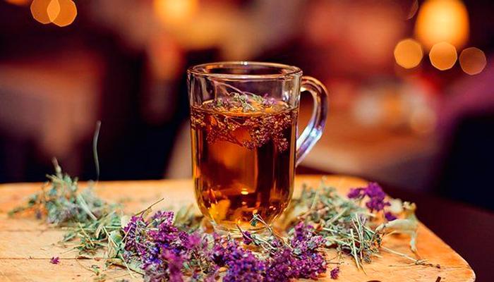 Настой чабреца для устранения алкогольного опьянения