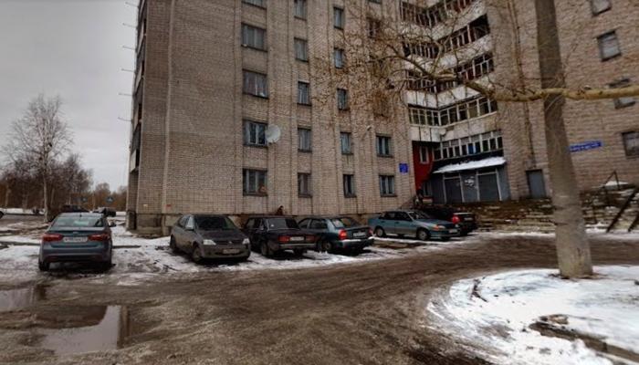 Расположение клиники психотерапии СГМУ «Диона» Архангельск