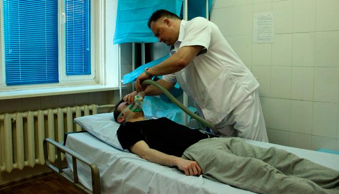 Схема проведения ксенонотерапии