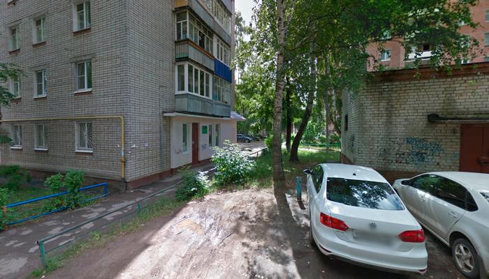 Расположение медицинского центр «Чайка» в Йошкар-Оле