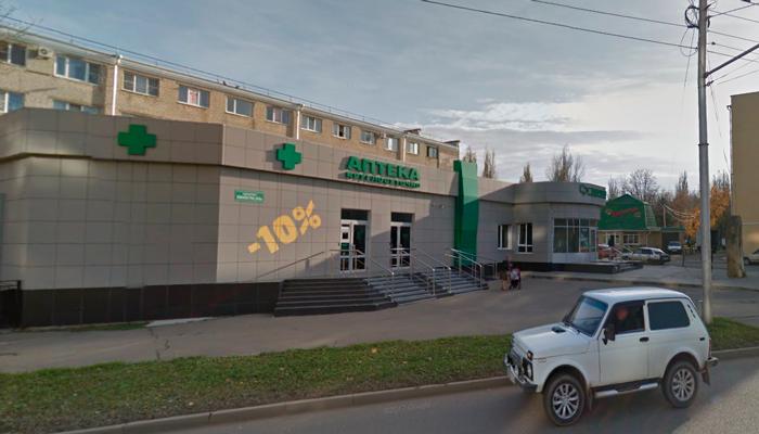 Расположение медицинского центра «Нина» (Ставрополь)