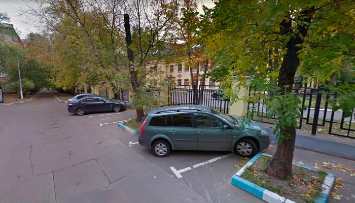 Расположение наркологической клиники «Альфа-Мед» (Москва)