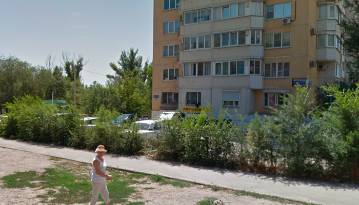 Расположение наркологической клиники «Медик» (Волгоград)
