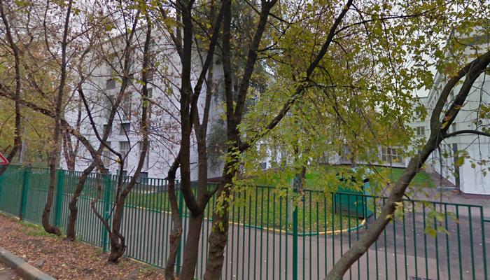 Расположение наркологической клиники «Новый век» (Москва)