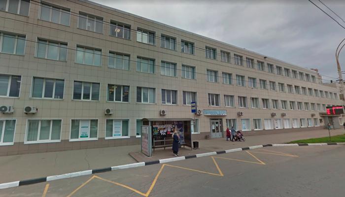 Расположение наркологического центра «Скорая наркология» (Тамбов)