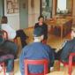 Групповые занятия постояльцев в наркологическом центре «Стимул» (Иркутск)