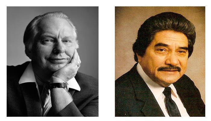 Основатели программы Нарконон - Рональд Хаббард и Уильям Бенитес