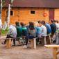 Лекция для постояльцев в реабилитационном центре «Горизонт» (Екатеринбург)