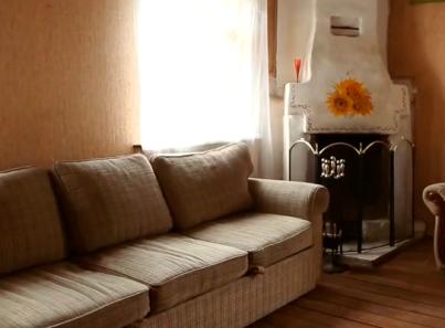 Гостиная в реабилитационном наркологическом центре «Горизонт» (Волгоград)