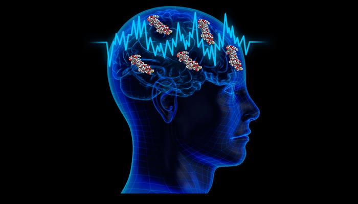 Выработка эндорфина в мозгу человека во время транскраниальной электростимуляции