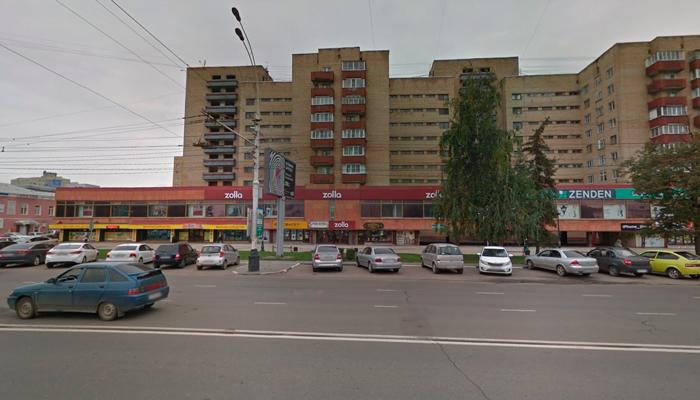 Расположение наркологического кабинета доктора Селезнева в Тамбове