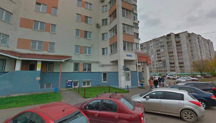 Расположение наркологического кабинета врача-психотерапевта Кузьмичева в Твери