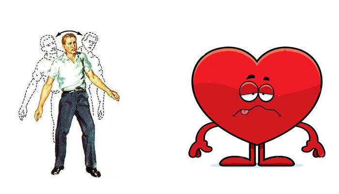 Потеря координации движения и нагрузка на сердце после употребления спиртного при ВСД