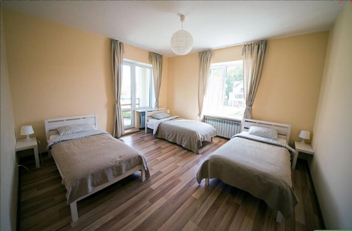 Спальня в реабилитационном центре Мечта