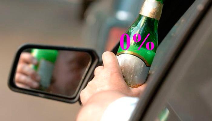 Возможность пить безалкогольное пиво и управлять автомобилем