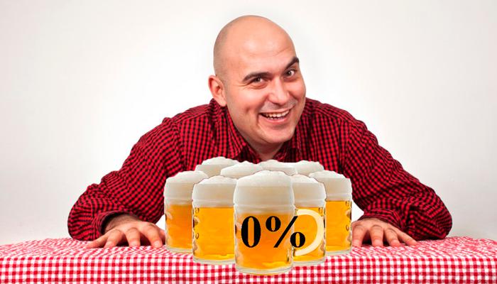 Систематическое употребление безалкогольного пива в большом количестве
