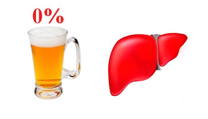 Влияние безалкогольного пива на печень