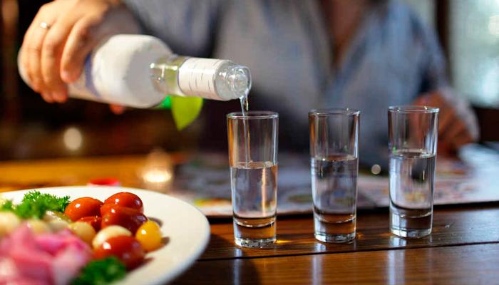 Умеренный прием алкогольных напитков абстинентом