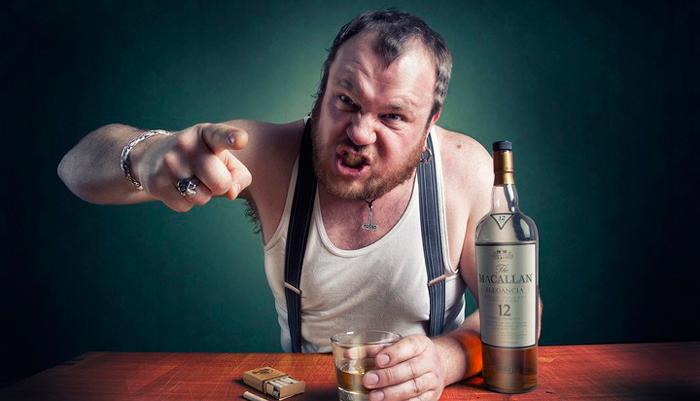 Агрессивное поведение алкозависимого после приема спиртного