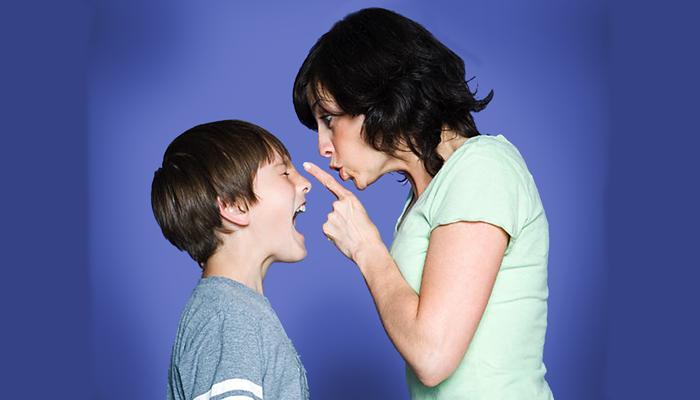 Конфликт ребенка и родителей
