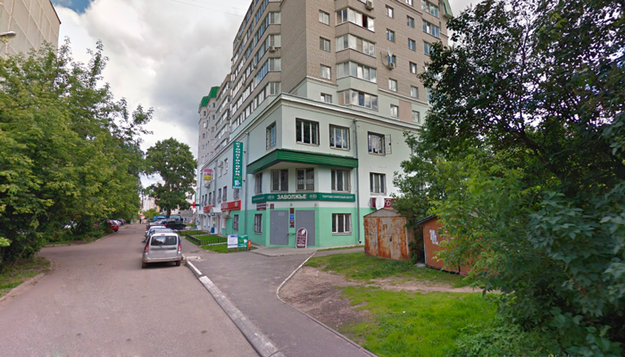 Расположение кабинета нарколога Покровского Даниила Геннадьевича (Тверь)