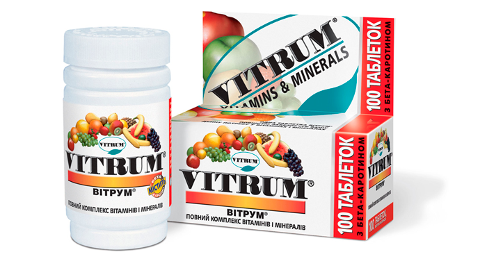 Витаминно-минеральный комплекс для лечения алкогольного тремора