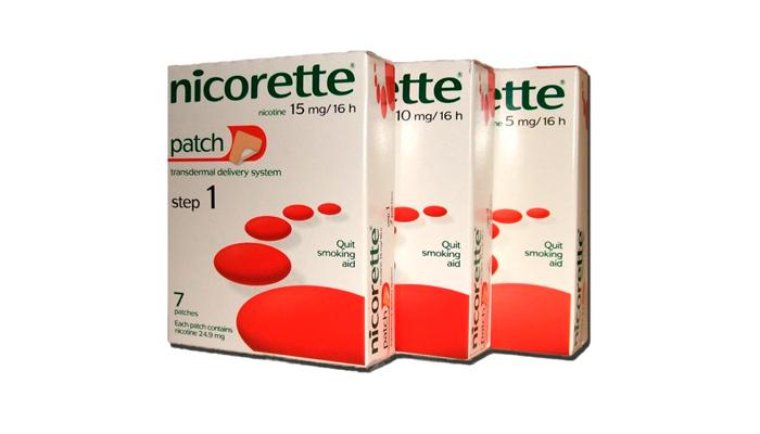 Пластырь для избавления от никотиновой зависимости