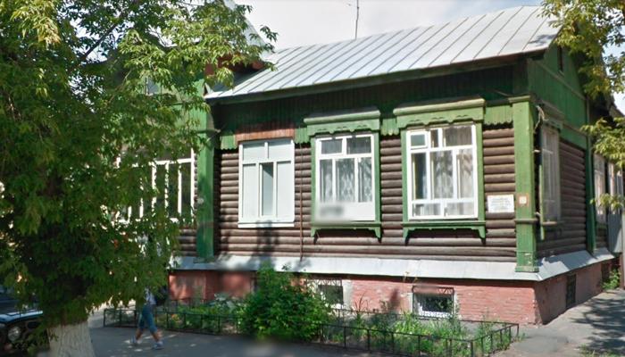Здание Курганского областного наркологического диспансера