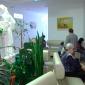 Холл в медицинском центре «Адастра» (Мариуполь)