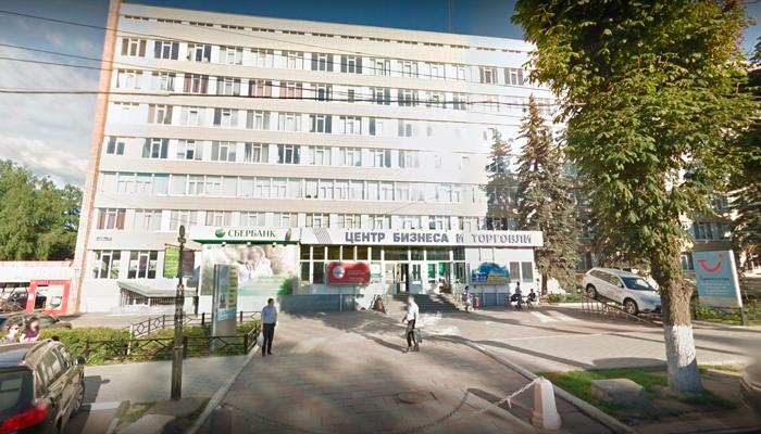 Расположение медицинского центра «Эфмед+» (Тула)