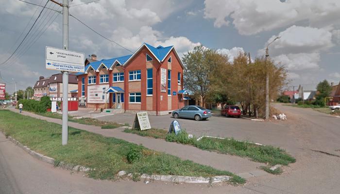Расположение медицинского центра «Линия Здоровья» (Оренбург)