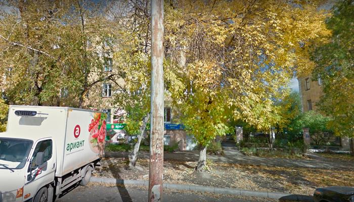 Расположение медицинского центра «Наркомед» (Челябинск)