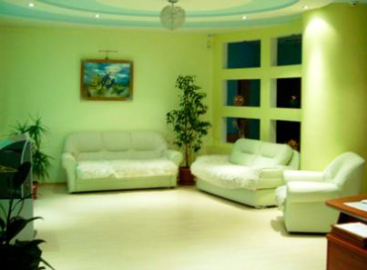 Холл в медицинском центре «Настроение» (Магнитогорск)