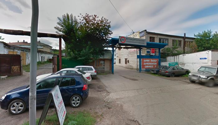 Расположение наркологической клиники «Адепт» (Томск)
