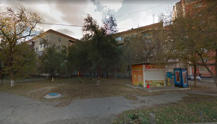 Расположение наркологической клиники «Благовест и К» (Волгоград)