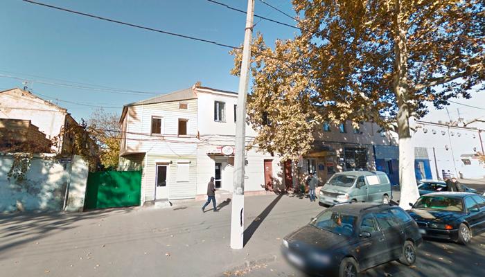 Расположение наркологического кабинета «Добролюб» (Одесса)