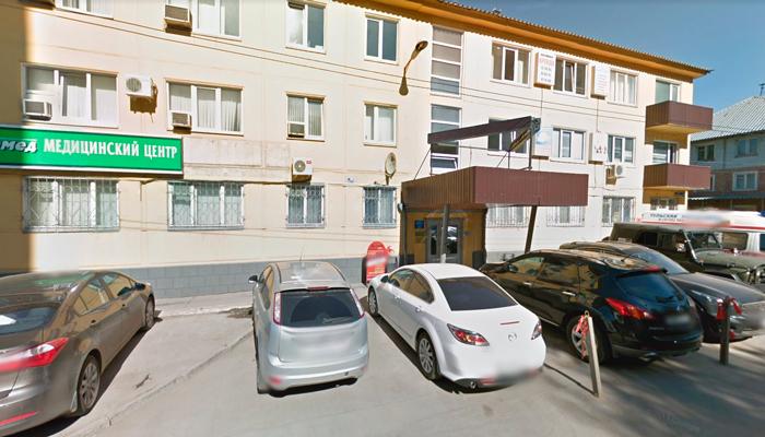 Расположение наркологического кабинета доктора Сивериной в Туле