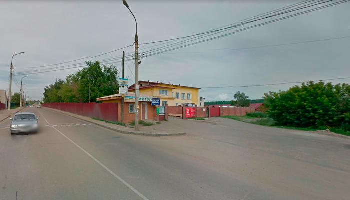 Расположение научно-медицинского центра «Феникс» (Иркутск)