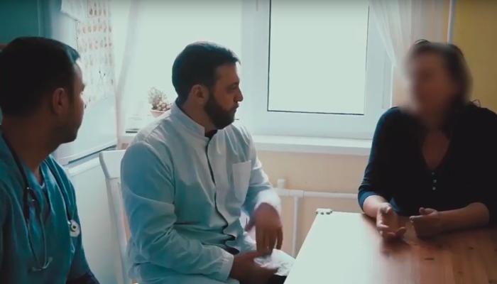 Предварительная беседа специалистов по интервенции с родственником зависимого