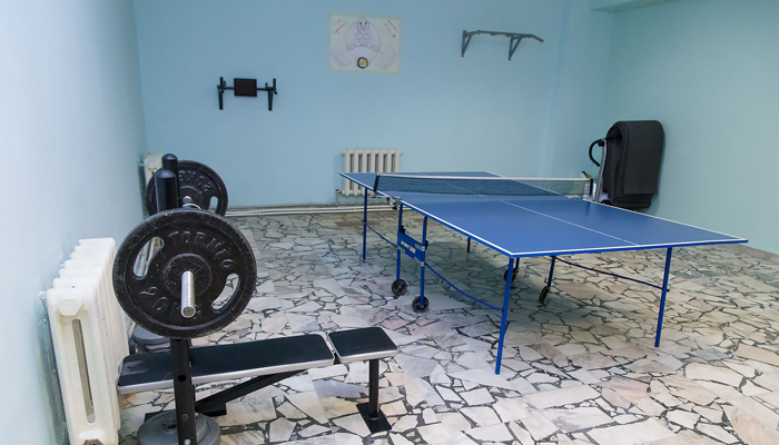 Спортзал в реабилитационном центре «Равновесие» (Саратов)