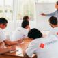 Групповые занятия постояльцев в реабилитационном центре «Горизонт» (Ижевск)