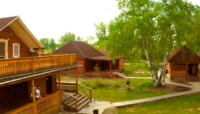 Территория реабилитационного центра «Горизонт» (Ижевск)
