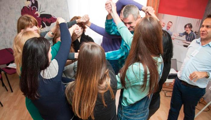 Групповые занятия постояльцев в Специализированном центре восстановления им. Академика Павлова (Ярославль)