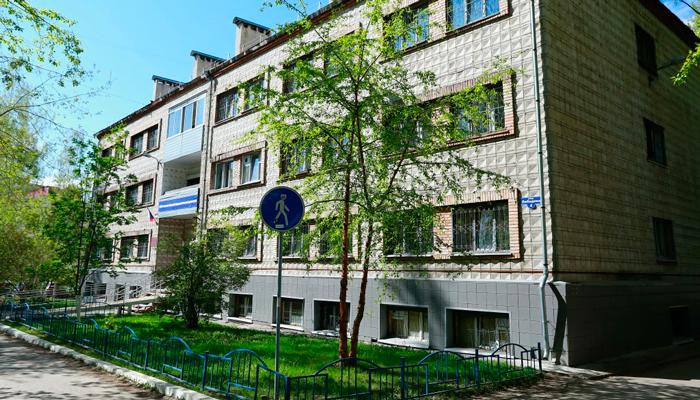 Здание Томского областного наркологического диспансера