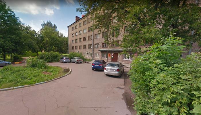 Здание Вологодского областного наркологического диспансера №2