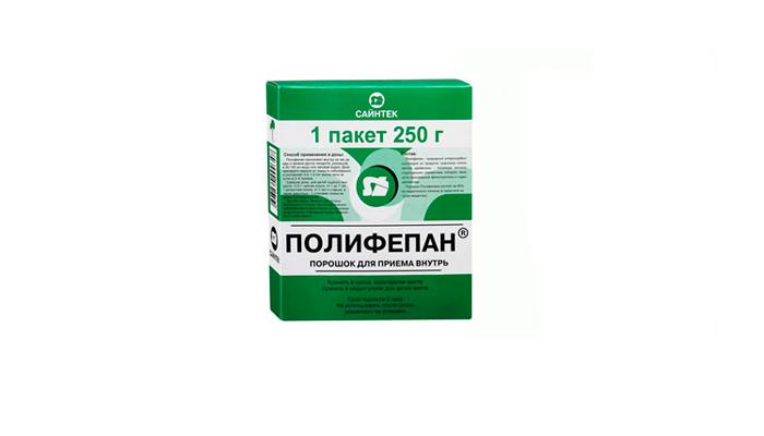 Полифепан для очистки кишечника от алкогольных токсинов